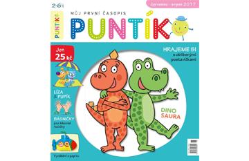 Roční předplatné časopisu Puntík