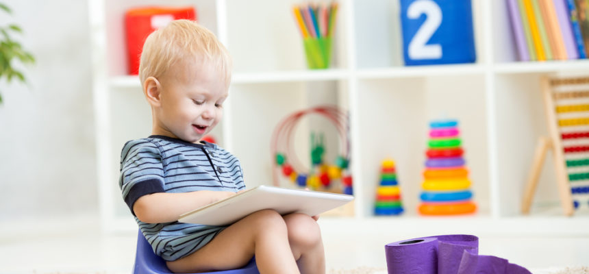 Pět zaručených tipů, jak naučit dítě chodit na nočník