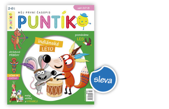 Roční předplatné časopisu Puntík se slevou