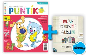 Roční předplatné časopisu Puntík + Moje rodinné album