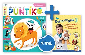 Roční předplatné + kniha Doktor Plyšák