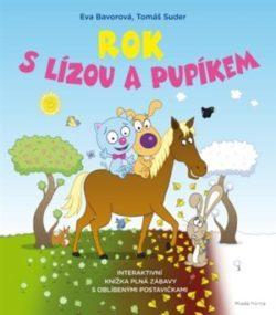 Kniha Rok s Lízou a Pupíkem