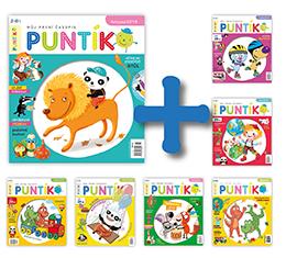 Roční předplatné časopisu Puntík + 6 výtisků Puntíka