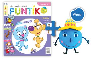 Roční předplatné časopisu Puntík do školky se slevou