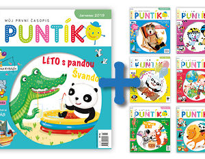 Roční předplatné časopisu Puntík + 6 starších vydání Puntíka