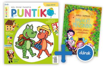 Roční předplatné časopisu Puntík + kniha Pavoučí prázdniny