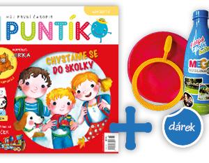Roční předplatné časopisu Puntík + Bublifuk